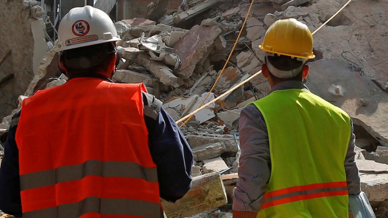 Así trabajan los rescatistas voluntarios en la colonia Roma de Ciudad de...