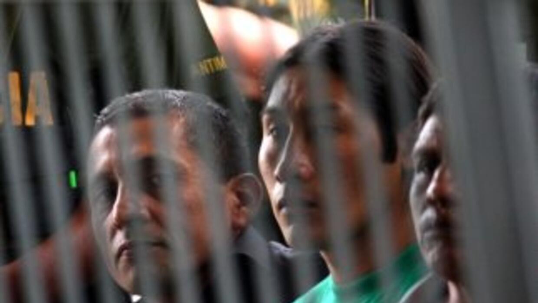 Antauro y Ollanta Humala cuando el primero no estaba encarcelado y el se...