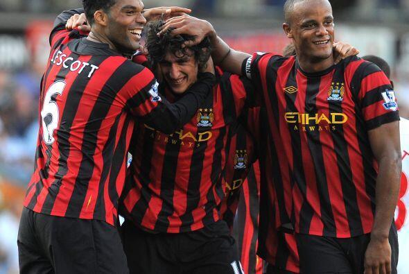 Los 'Citizens' no tuvieron piedad del Blackburn y uno de los goles fue o...