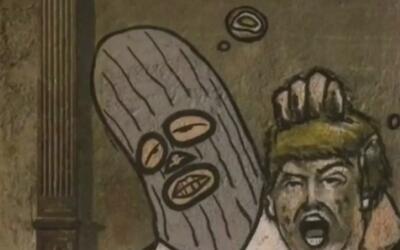 Polémica por dibujo hecho en Cuba en el que Donald Trump aparece decapit...