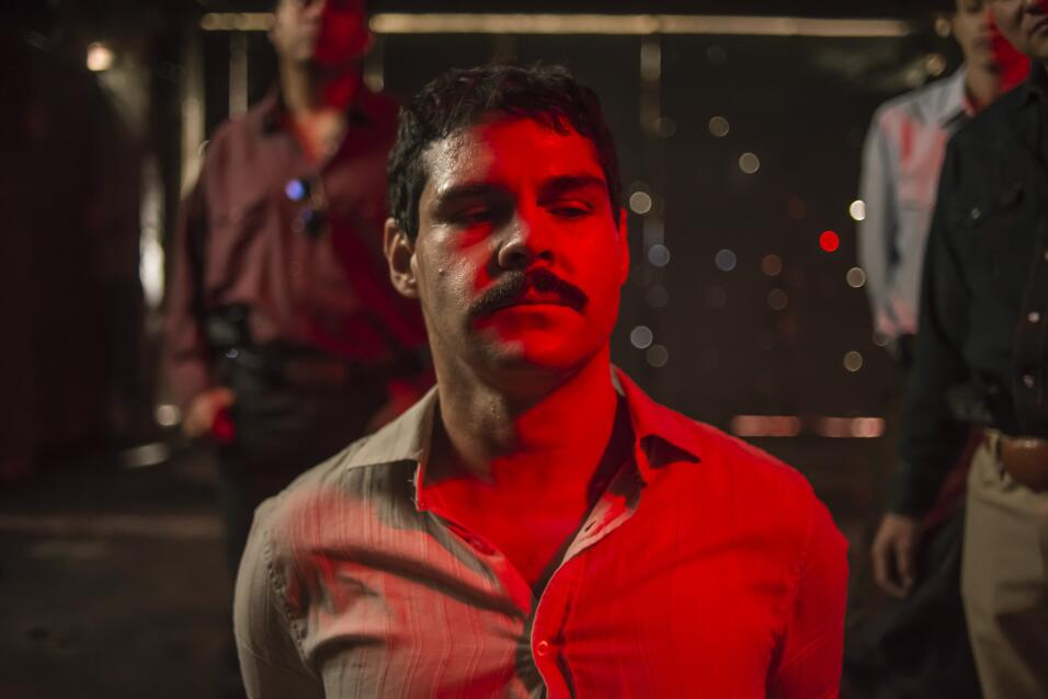 Marco de la O interpreta a 'El Chapo'.