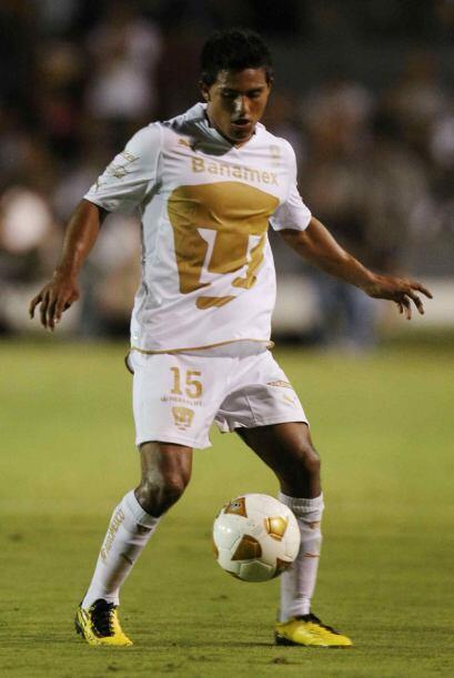 Cortés también estuvo en la cancha todo el partido y aunque no hizo gol,...