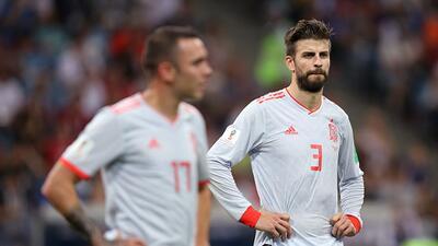 España sufre históricamente en su primer juego de Copa del Mundo