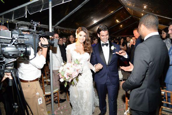 Vanessa de Roide y Jorge dieron sus primeros pasos rumbo a la felicidad...