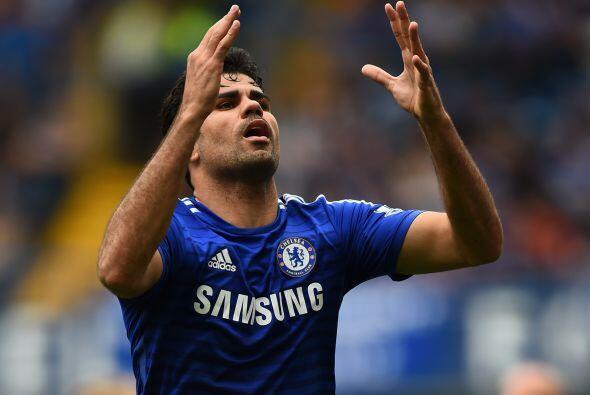 Cuando se dio cuenta, Diego Costa no podía creer que estuviera en el est...