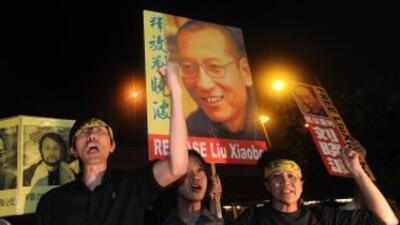 Liu Xia visitó a su esposo, Liu Xiaobo, ganador del Nobel de la Paz.