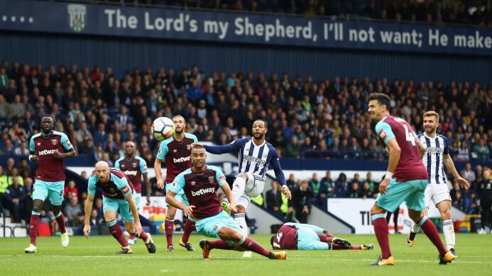 Pálido empate del West Ham, con 76 minutos del Chicharito  gettyimages-8...