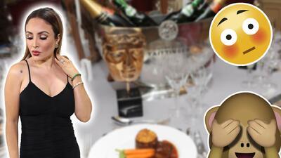 La Bronca se topó con uno de sus examigos con derechos en su cena de aniversario con 'El Ojitos'