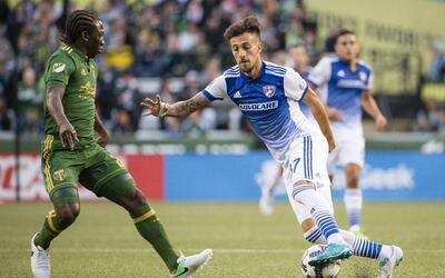 Maxi Urruti, Diego Chara FC Dallas vs Portland Timbers