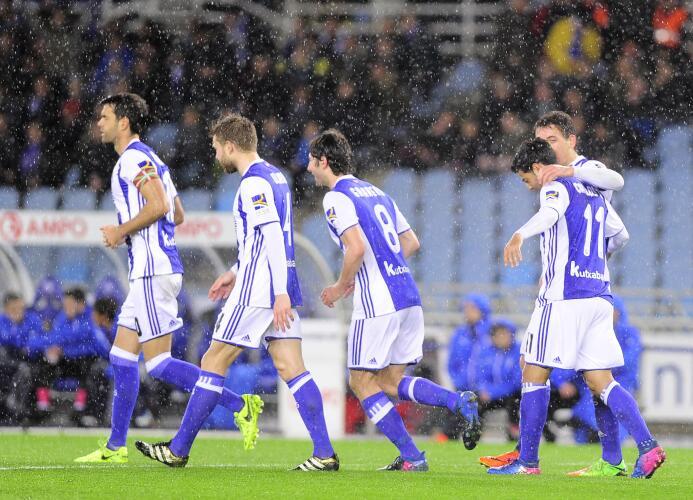 En fotos: Carlos Vela llegó a 70 goles con la camiseta de la Real Socied...