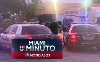 'Miami en un Minuto': la policía investiga el homicidio de un hombre de...