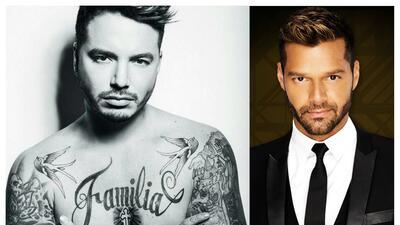 """JBalvin y su humana admiración por Ricky Martin: """"Quiero ser un gra..."""
