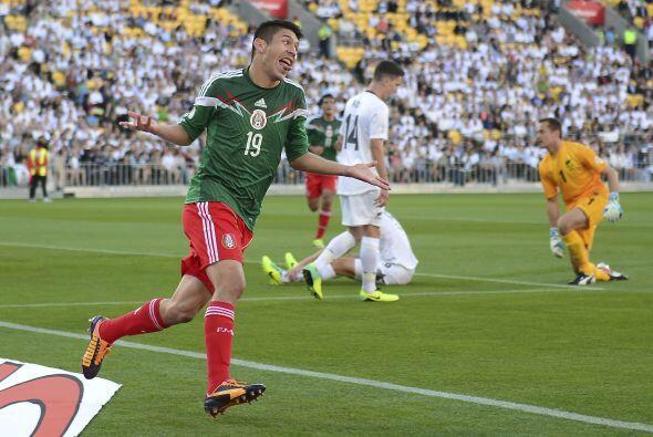 El mejor delantero de Mëxico en la actualidad. 'El Cepillo' Peralta...