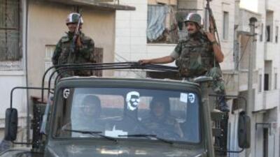 La comunidad internacional presiona al régimen de Damasco para que orden...