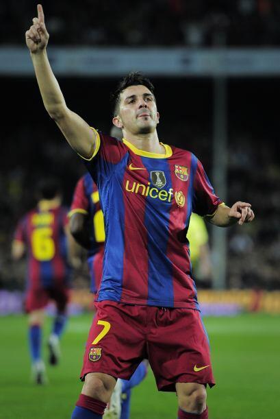 El hombre gol de este plantel es David Villa, pues con la partida de vie...
