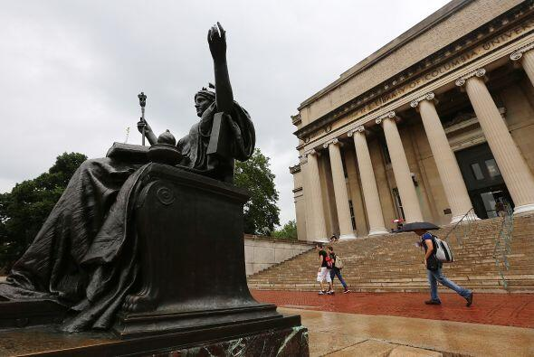 4. Columbia University (NY) - Esta universidad del Ivy League es reconoc...
