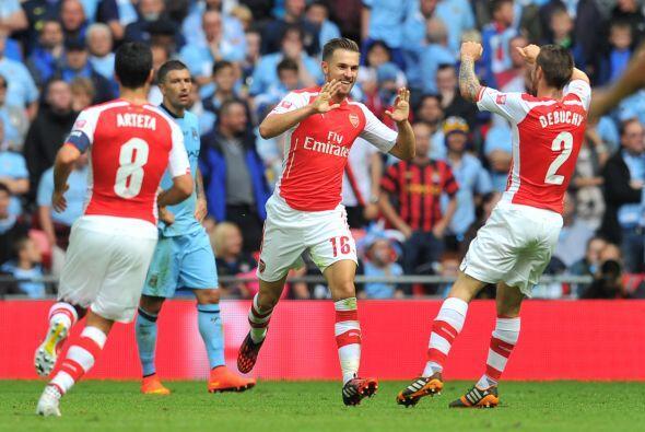 Los 'Gunners' estaban siendo letales con su rival.
