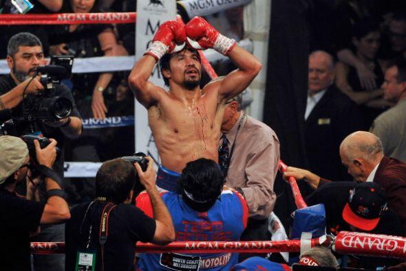 Manny Pacquiao derrotó por decisión unánime a Timothy Bradley para vegar...