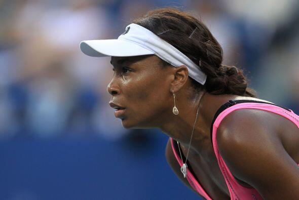 La estadounidense Venus Williams renunció a disputar el torneo de...