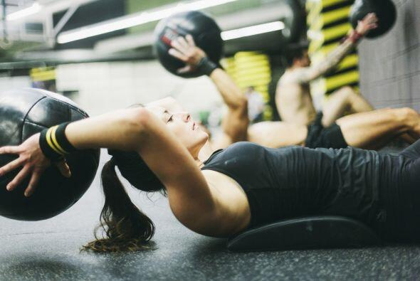 Eres fanática del fitness. Cuando no haces ejercicio, ¿sientes que te fa...