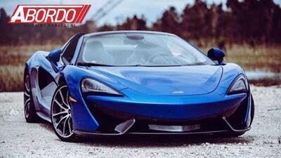 Primer Vistazo: 2018 McLaren 570S Spider | A Bordo
