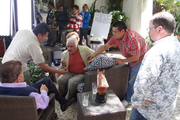 Cuando se trata de compartir historias, Don Chente es un apasionado, que...