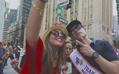 Yandel puso a todos a gozar en el desfile puertorriqueño en Nueva York