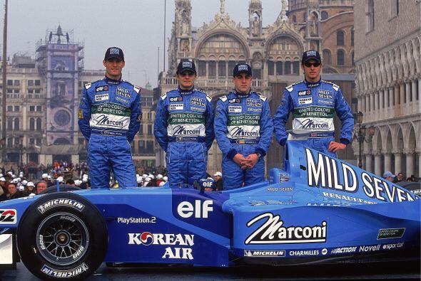 El primer equipo de Fórmula Uno de Alonso.
