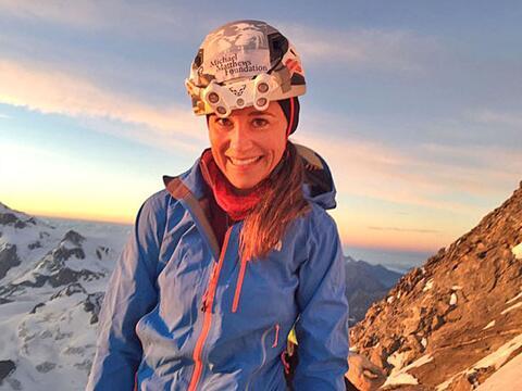 Pippa y James Middleton en el Matterhorn