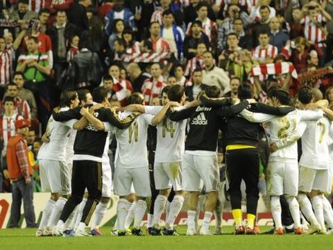 Fueron cuatro años en los que Real Madrid no pudo ganar una Liga...