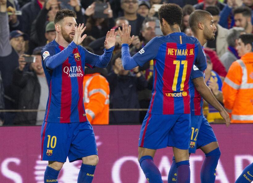 Messi y Suárez mantienen al Barcelona al acecho del Madrid 6362555933453...