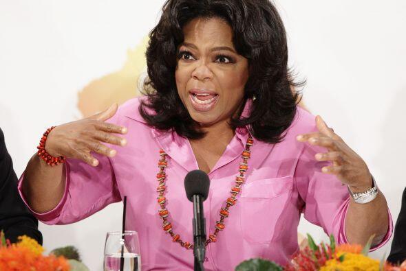 En tercer lugar se ubicó la conductora televisiva Oprah Winfrey. Oriunda...