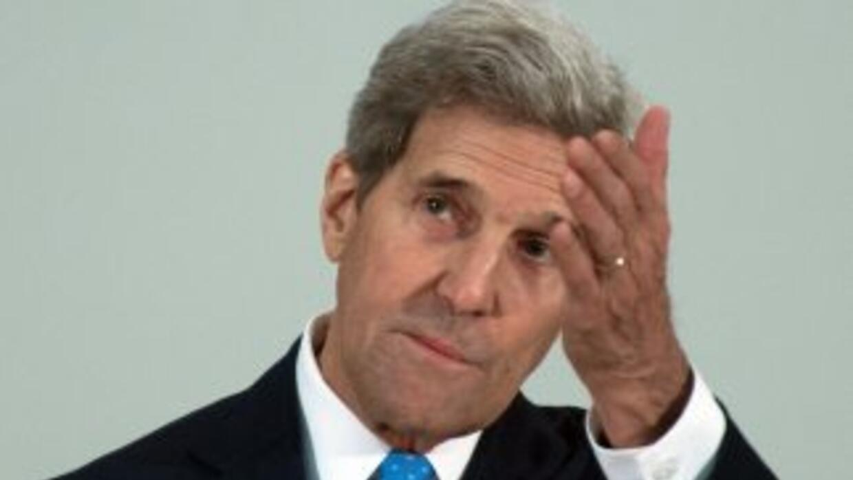 El secretario de Estado de EEUU John Kerry.