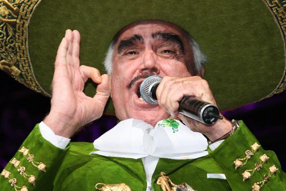 Entre las canciones más escuchadas de Vicente Fernández en...