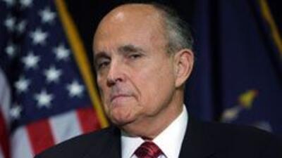 Rudy Giuliani considera conflictiva construccion de mezquita en Zona Cer...