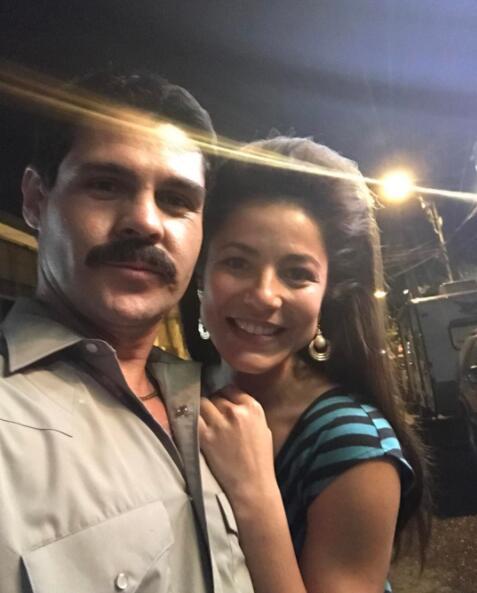 Detrás de cámaras El Chapo