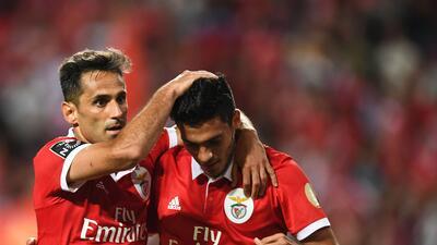 Benfica goleó y Raúl Jiménez puso asistencia en la Jornada 3 de Portugal