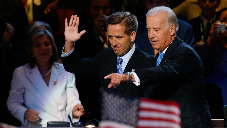 """Joseph """"Beau"""" Biden III falleció de un tumor cerebral en mayo de 2015."""
