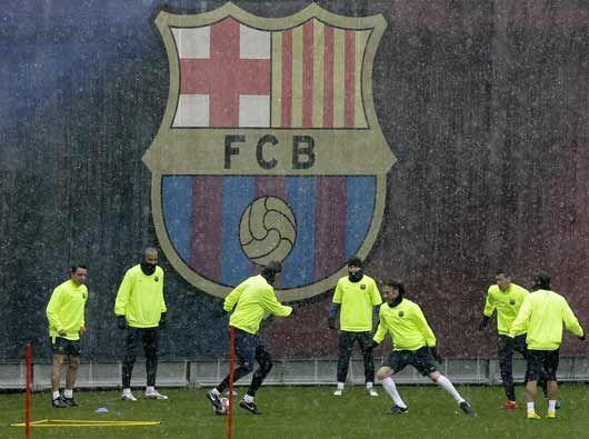En pleno mes de marzo, y tras haber empatado con Almería, el Barcelona r...