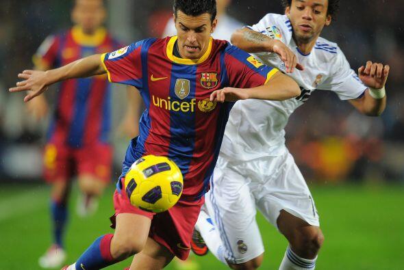 Tras este tanto, el Barça no bajó el ritmo y se mantuvo con la misma bus...