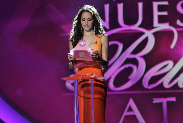 La mexicana Bárbara Falcón derramó lágrimas al saber que fue la chica qu...