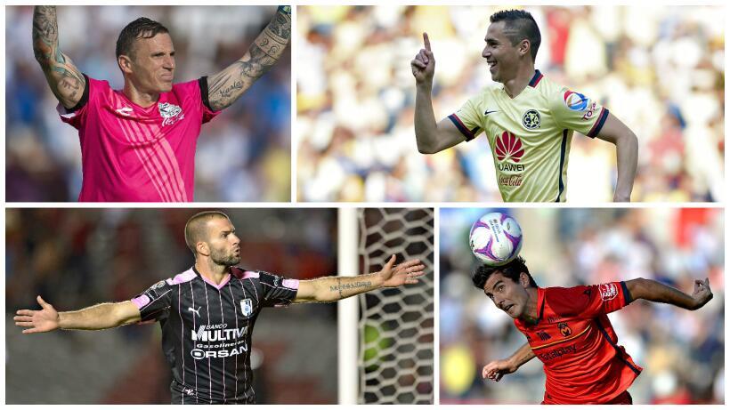 Los 11 mejores jugadores del Univision Deportes Fantasy en el Apertura 2015