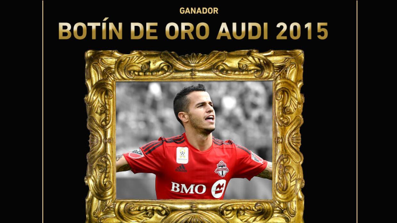 Giovinco ganador del Botín de Oro Audi 2015 de la MLS