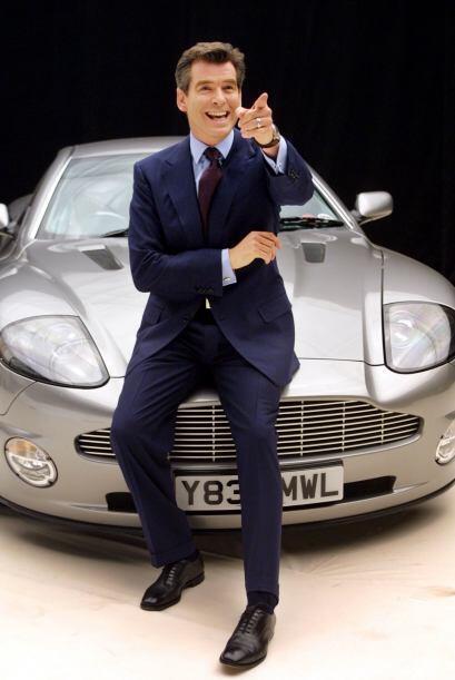 """Brosnan encarnó a James Bond en cuatro ocasiones, para las películas """"Go..."""
