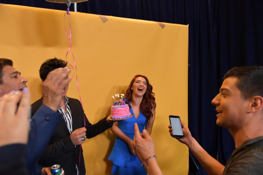 Daniela Luján celebró su cumpleaños.