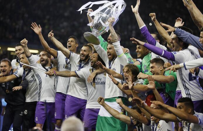 Cuarta temporada del Real Madrid como el 'Rey' del ranking de la UEFA AP...