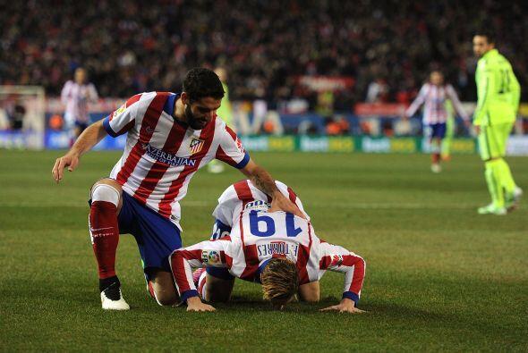 Apenas corrían 45 segundos del partido cuando el 'Niño' Torres se quitó...