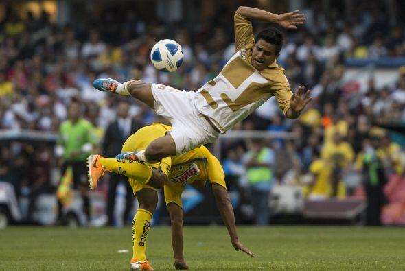 Históricamente los duelos entre América y Pumas han sido u...