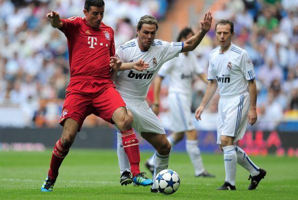 En la cancha estaban futbolistas que años atrás fueron figuras como Roy...
