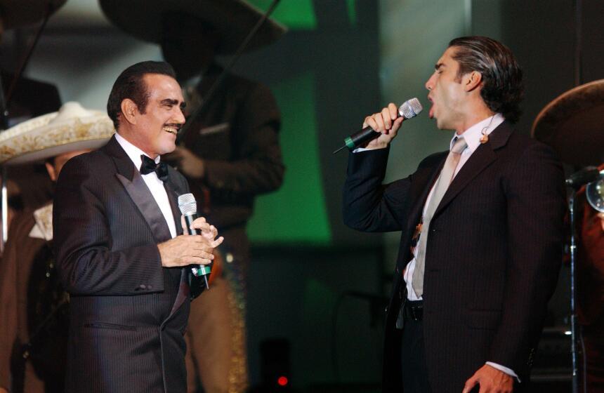 Vicente y Alejandro